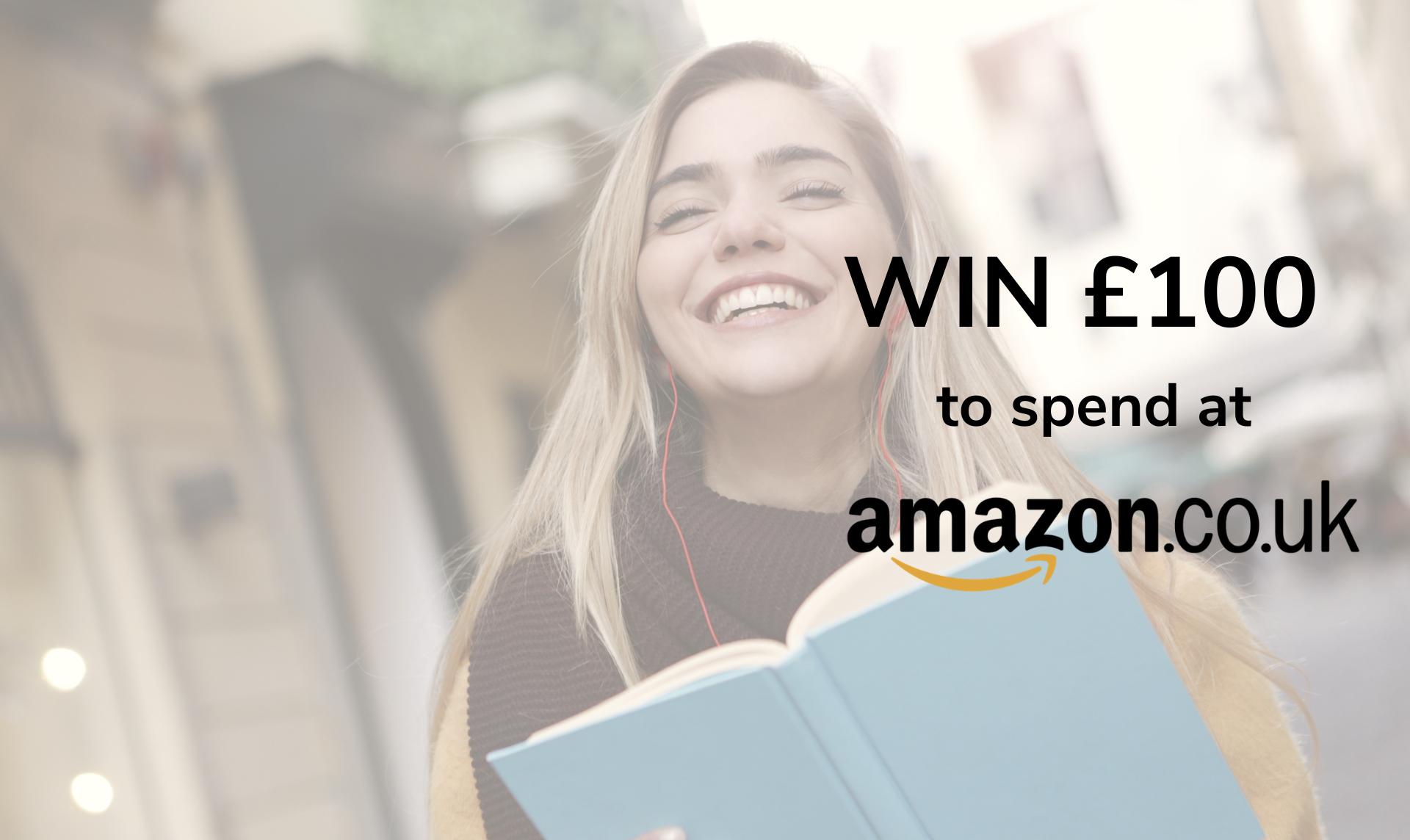 Five £100 Amazon vouchers to be won