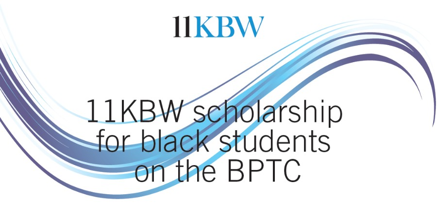 11KBW Scholarships for black students on the BPTC