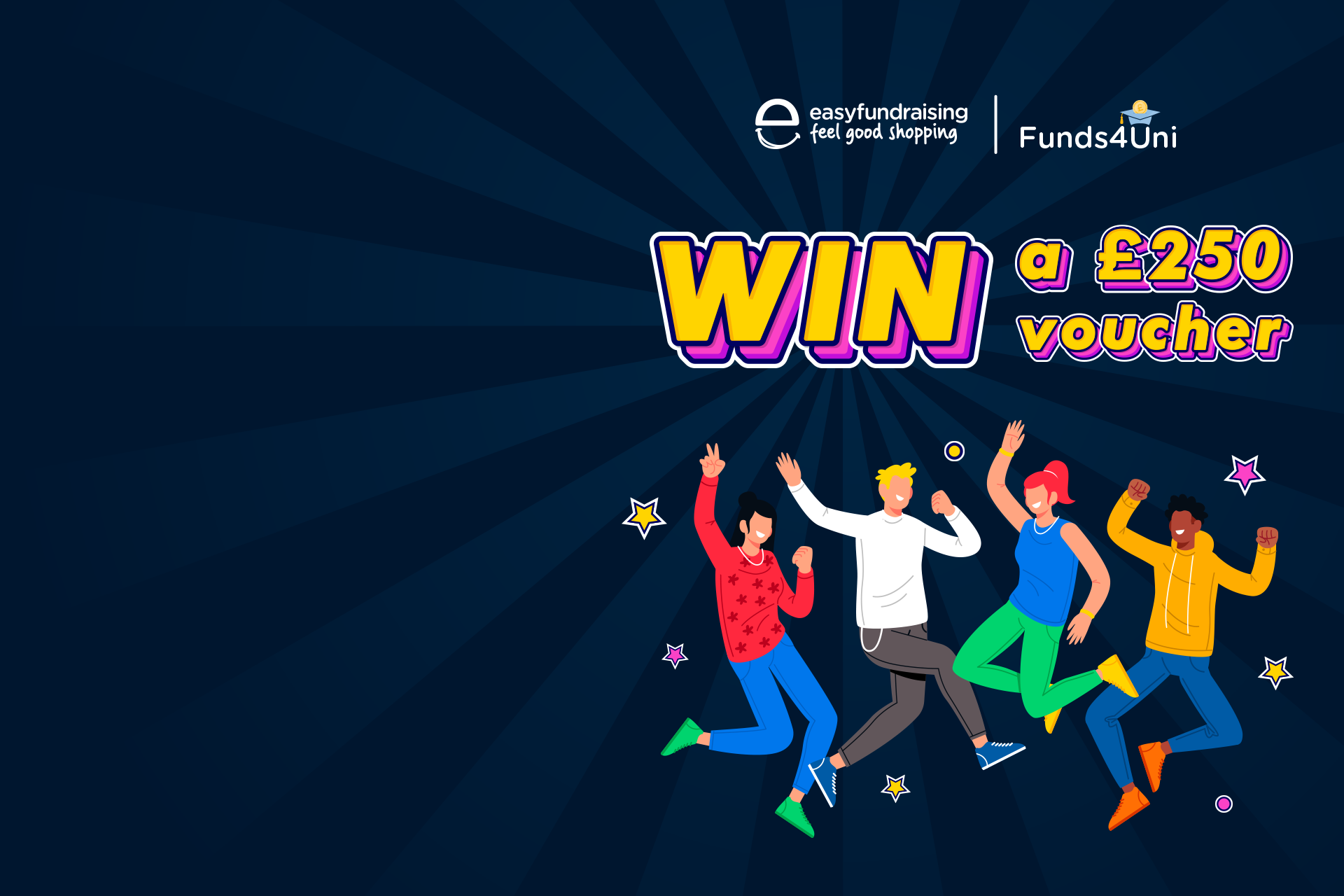 Competition Time Win £250 with Funds4Uni