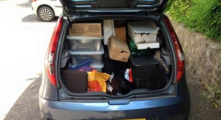 Moving Stuff to and from Uni